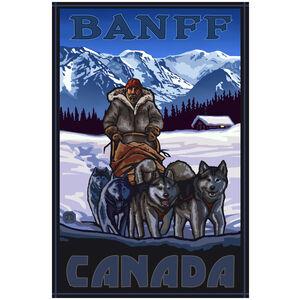 Banff Canada Sled Dog Team