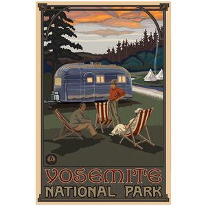 Yosemite National Park Airstream Trailer