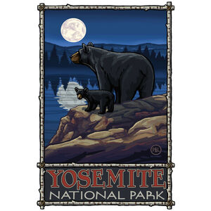 Yosemite National Park Bear Lake Moon Hills