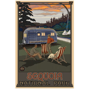 Sequoia National Park Airstream Trailer