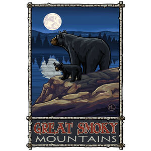 Great Smoky Mountains Bear Lake Moon Hills