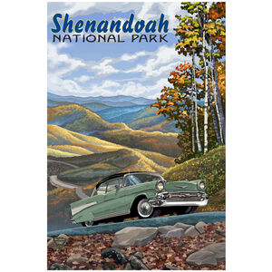 Shenandoah National Park Chevy