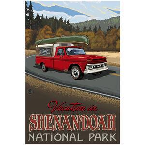 Shenandoah National Park Pickup Road Trip Hills