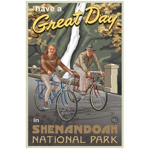 Shenandoah National Park Couple Gorge Bikers