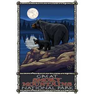Great Smoky Mountains National Park Bear Lake Moon Hills