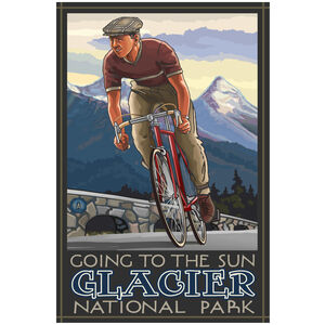 Glacier National Park Cycling Going To The Sun