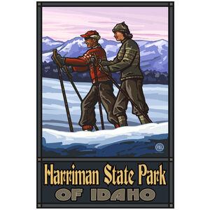 Harriman State Park Idaho Cross Country Skiers