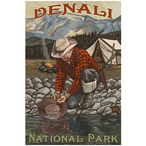 Denali National Park Gold Panner