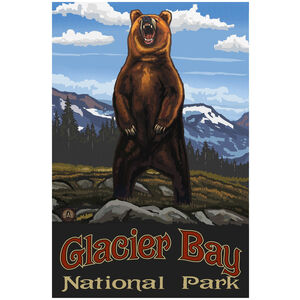 Glacier Bay National Park Grizzly Bear Standing