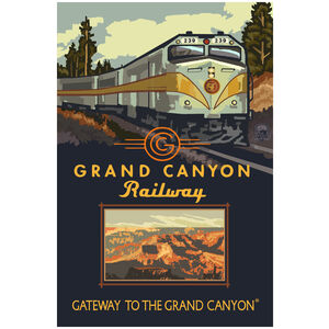 Grand Canyon Railway Diesel Train