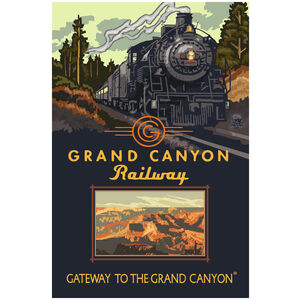 Grand Canyon Railway Steam Engine