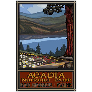 Lake Trails Acadia National Park Maine
