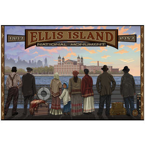 Ellis Island New York National Monument