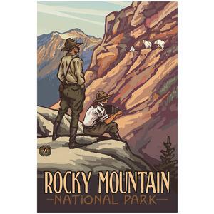 Rocky Mountain National Park Park Rangers & Goats