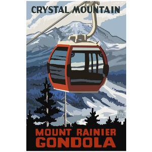 Crystal Mountain Mount Rainier Gondola Winter