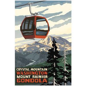 Crystal Mountain Mount Rainier Gondola Summer