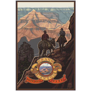 Grand Canyon National Park Mule Riders