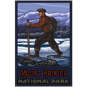 Mount Rainier National Park Snowshoer Cabin