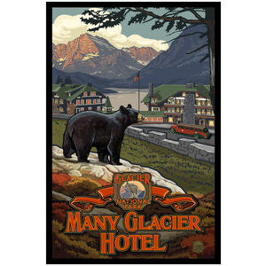 Glacier National Park Many Glacier Hotel