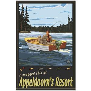Appeldoorn's Resort Minnesota Fisherman In Boat