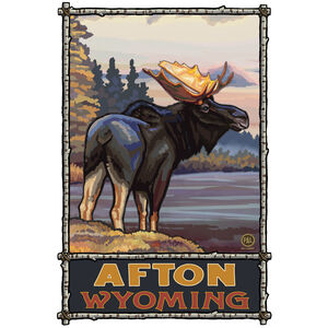 Afton Wyoming Moose