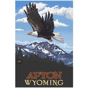 Afton Wyoming Soaring Eagle