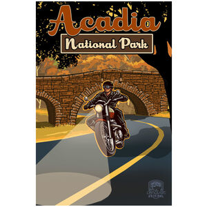 Acadia National Park Maine Motorcycle