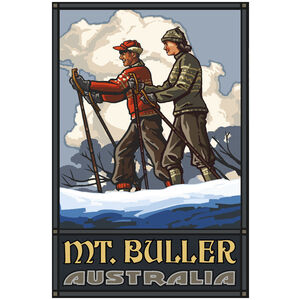 Mt Buller Victoria Australia Cross Country Skiers