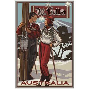 Mt Buller Victoria Australia Classic Skiers