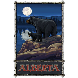 Alberta Canada Bear Lake Moon Hills