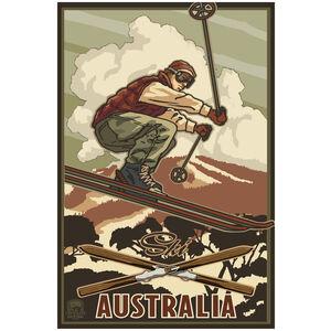Australia Skier