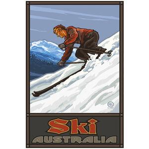 Australia Downhill Skier Man