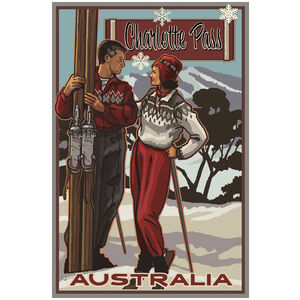 Charlotte Pass Australia Skiers