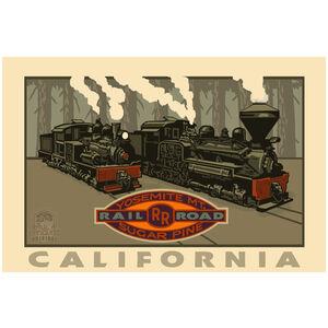 Yosemite California Railroad
