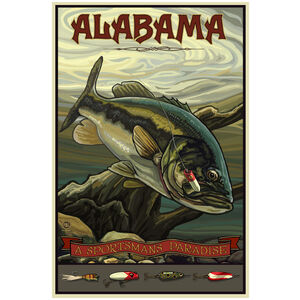 Alabama Bass Fishing