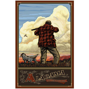 Alabama Pheasant Hunter with Dog
