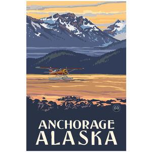 Anchorage Alaska Plane Mountains