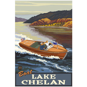 Boat Lake Chelan