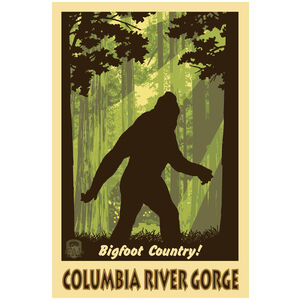 Bigfoot Shadow Columbia River Gorge