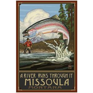 A Riv Runs Through Missoula Montana