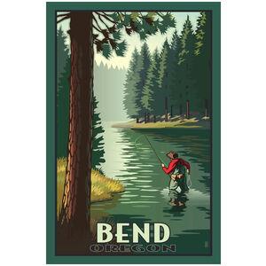 Bend Oregon Fisherman