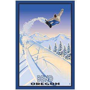 Bend Oregon Snowboarder