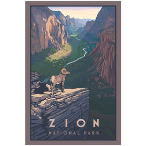 Zion Canyon Bighorn Sheep Zion National Park
