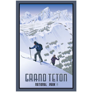 Grand Teton National Park Backcountry Skiers