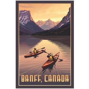 Banff Canada Kayakers