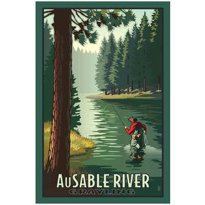 Au Sable River Grayling
