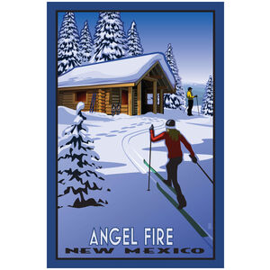 Angel Fire New Mexico Cross Country Cabin