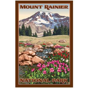 Hiking Mount Rainier Washington