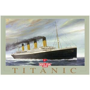 Titanic under Foreboding Sky