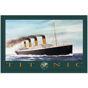 Titanic Green Letters